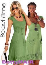 BEACHTIME Strandkleid,Sommerkleid, Bindeband Gr.32/34