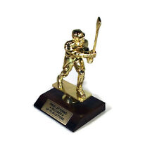 Lacrosse, Male Trophy- Recognition- Desktop Series- Free Lettering