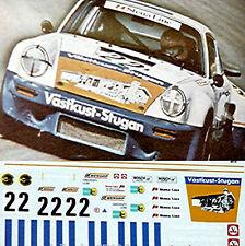 Porsche 911 RSR Vaestkust Izquierda #12 Simmonsen Pegamento 1:24