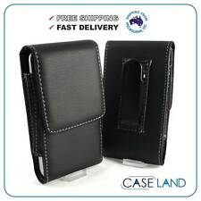 S1 -  LEATHER BELT CLIP CASE COVER HOLSTER FOR APPLE IPHONE 4 / 4S / 3GS