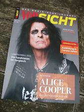 German Magazine Alice Cooper Detroit Stories new Album 2 pages Interview mag