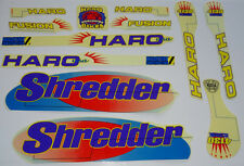 HARO SHREDDER og BMX Sticker Set - '90s Old School Freestyle BMX Decal Set - NOS