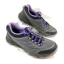 Women's Vionic Trail Shoes McKinley Gray Purple 8.5 M