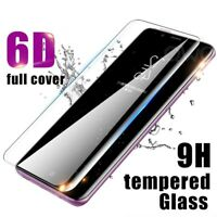 For Samsung Galaxy S10 Plus 6D Full Cover Tempered Glass Screen Protector Clear
