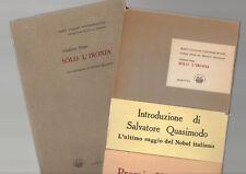 SOLO L' IRONIA GIULIANO DEGO ITALIAN POETRY SIGNED PRESENTAION COPY SLIP CASE