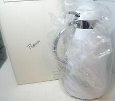 NEW Gevalia White Insulated Thermos Carafe Glass Interior