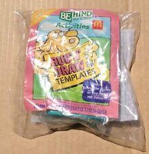 McDonald Rub'n'Draw Templates Happy Meal Toy 1992 Brand Neww