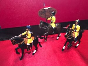 DORSET Toy Soldiers #505B~3rd Skinners Horse~ 3 Piece Boxed Set ~ NMIB