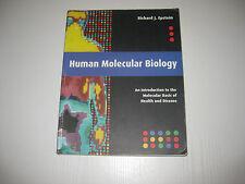 Human Molecular Biology von Richard J. Epstein (2002)