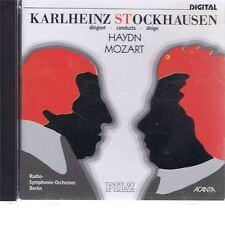 CD ACANTA STOCKHAUSEN CONDUCTS HAYDN & MOZART