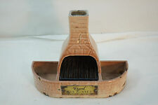 ANTIQUE STOVE ADVERTISING GRAND GAS RANGES CAST IRON MATCH HOLDER PORCELAIN