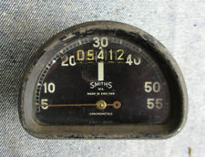 VINTAGE SMITHS CHRONOMETRIC MOTORCYCLE D SHAPED SPEEDOMETER BSA BANTAM 55MPH