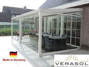 VERASOL Greenline - Glasschiebewand 4000 x 2100 mm - Made in Germany