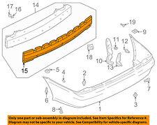 MAZDA OEM 02-03 Protege5 Bumper Face-Foam Impact Absorber Bar BN5V50311