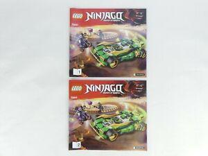 LEGO Ninjago 70641 Masters of Spinjitzu - INSTRUCTION MANUALS ONLY - NO LEGO.