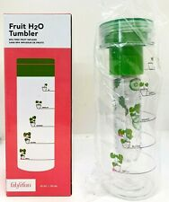 Fabfitfun Fruit H20 Tumbler Fruit Infuser 25oz NEW In Box