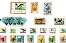 A LOVELY MIX OF KILOWARE STAMPS FROM SIERRA LEONE