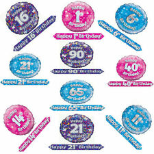 All Occasions Foil 6-10 m Party Banners, Buntings & Garlands