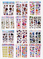 3D Puffy Scrapbook Kids Party Favors Crafts stickers lot-Teacher Reward Stickers