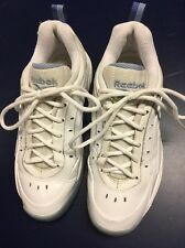 Women's White Rebook Tennis Shoes Size 7 Medium