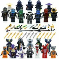 Set 24Pcs Ninjago Lego Building Blocks Toys Minifigures Kids Mini Action Figures