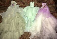 Doll Dress Gown Outfit Lot of 3 fits Barbie, Fashion Royalty, Poppy Parker