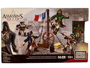 Assassin's Creed MEGA BLOKS RÉVOLUTION FRANÇAISE FRENCH PACK - NEUF / NEW