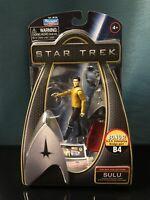 NIB Star Trek Galaxy Collection Sulu Action Figure with Bonus Bridge part B4