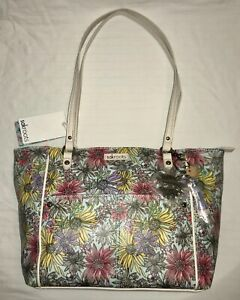 SAKROOTS WOMEN'S MEADOW MED/LARGE SATCHEL/TOTE NATURAL NWT XEN GARDEN PURSE NWT
