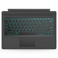 MoKo for Microsoft Surface Pro 6,Pro 5 LED Backlit Type Cover Bluetooth Keyboard
