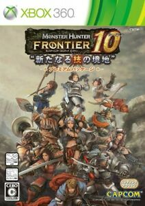 Game xbox 360 Monster Hunter Frontier Online Season 10