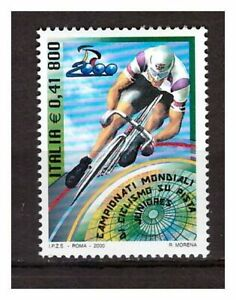 S18029) Italy MNH 2000 Cycling 1v Cycling