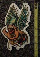 Santa Cruz Skateboard Sticker (Thor)