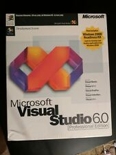 New Microsoft Visual Basic Studio 6.0 6 Professional PRO FoxPro C++ 659-00390