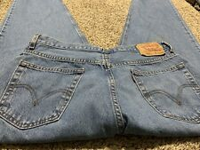 LEVI'S 560 COMFORT FIT TAPERED LEG DESIGNER MEN'S JEANS SIZE 36X34