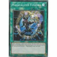 YuGiOh Magicalized Fusion DANE-ENSE4 | Super Rare Card Limited Edition | TCG