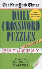 The New York Times Daily Crossword Puzzles (Saturday), Volume I (New-ExLibrary