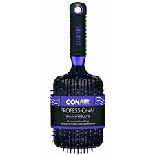 Conair Professional Cushion Base Paddle Hair Brush, Colors May Vary 1 ea 2pk