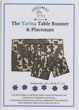 THE TARINA TABLE RUNNER & PLACEMATS PATTERN by HEIDI HO PATTERNS
