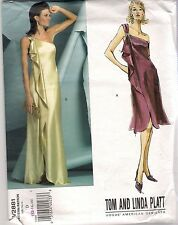 Vogue Designer Sewing Pattern 2881, Tom, Linda Platt, Dress, Size 12-16, Uncut