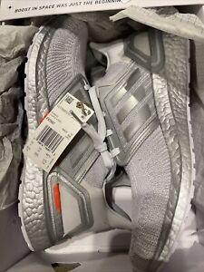 adidas Men ULTRABOOST 20 DNA SZ 10.5 Dash Grey/Silver Metallic/Halo Silver/ $180