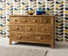 Vermont Solid Oak Sideboard in Natural Oak Noa and Nani 385757