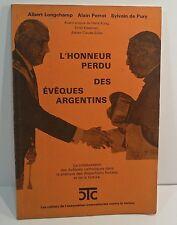 Longchamp, Perrot. L'honneur perdu des évêques argentins, 1988