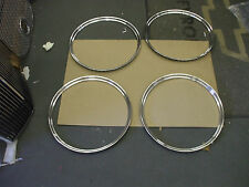 "1932-33 Ford Mopar set of four NEW 18"" trim rings L@@@@@@@@@@@@@@K"