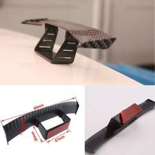 Mini Carbon Fiber Body Trim Universal Car Tail Empennage Spoiler Wing Sticker