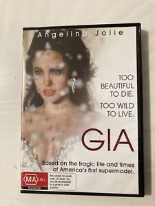 Gia DVD 1998 HBO Supermodel Carangi Biopic Drama with Angelina Jolie