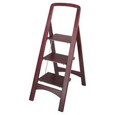 cosco rockford 11255mgy1 wood step stool