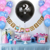 Complete Gender Reveal Party Supplies Kit, 109 Pieces