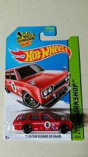 Hot Wheels 2014 Super Variation!!!! '71 Datsun Bluebird 510 Wagon.