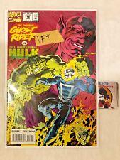 GHOST RIDER  #18 ( GHOST RIDER VS INCREDIBLE HULK )  DC COMICS VF+